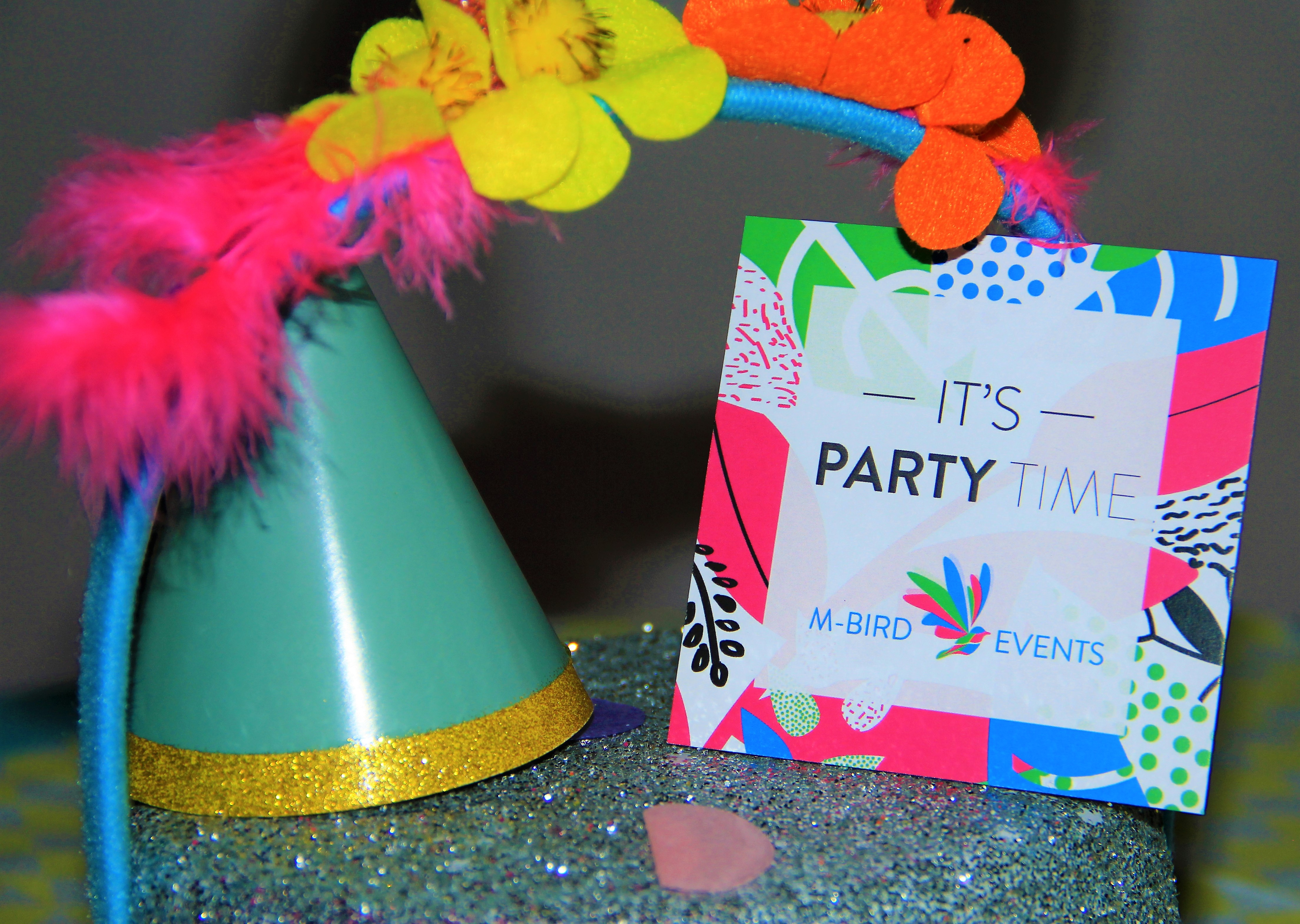M-Bird Events – Flinke portie confetti