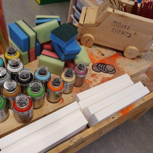 Workshop graffity for kids